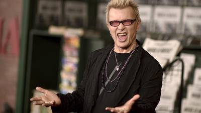 Billy Idol Does NOT Idle
