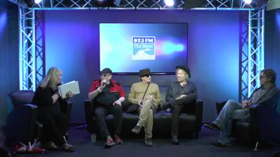 Cheap Trick in the 97.1 The River Live Lounge