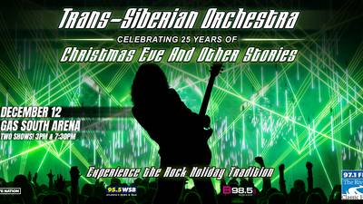 Enter for a chance to win four tickets to see Trans-Siberian Orchestra!