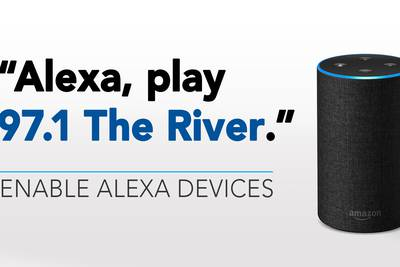Enable the 97.1 The River's Custom Skill on your Alexa devices!